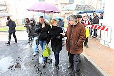 20130128 INAUGURAZIONE NUOVE CASE QUARTIERE BARCO CON VASCO ERRANI E MARCELLA ZAPPATERRA