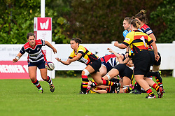Charlotte Keane of Richmond ladies in action - Mandatory by-line: Craig Thomas/JMP - 17/09/2017 - Rugby - Cleve Rugby Ground  - Bristol, England - Bristol Ladies  v Richmond Ladies - Women's Premier 15s