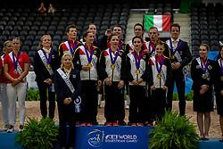 Team Germany / Team Deutschland<br /> Tryon - FEI World Equestrian Games™ 2018<br /> Nations Team Vaulting Championship<br /> 19. September 2018<br /> © www.sportfotos-lafrentz.de/Stefan Lafrentz