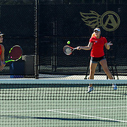 11 November 2016: The San Diego State Aztecs women's tennis team hosts it's second fall classic at the Aztec Tennis Center. www.sdsuaztecphotos.com