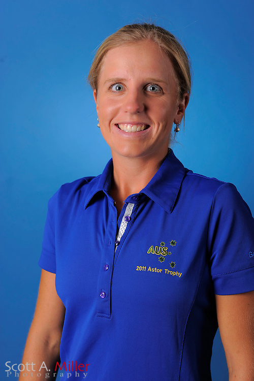 Emma De Groot during a portrait session prior to the second stage of LPGA Qualifying School at the Plantation Golf and Country Club on Sept. 25, 2011 in Venice, FL...©2011 Scott A. Miller