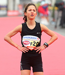 15.04.2012, Wien, AUT, Vienna City Marathon 2012, im Bild Tanja Eberhart (AUT) // during the Vienna City Marathon 2012, Vienna, Austria on 15/04/2012,  EXPA Pictures © 2012, PhotoCredit: EXPA/ T. Haumer