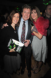 MICHAEL CRAWFORD and his daughters Left LUCY and right EMMA at the press night of the new Andrew Lloyd Webber  musical 'The Wizard of Oz' at The London Palladium, Argylle Street, London on 1st March 2011 followed by an aftershow party at One Marylebone, London NW1