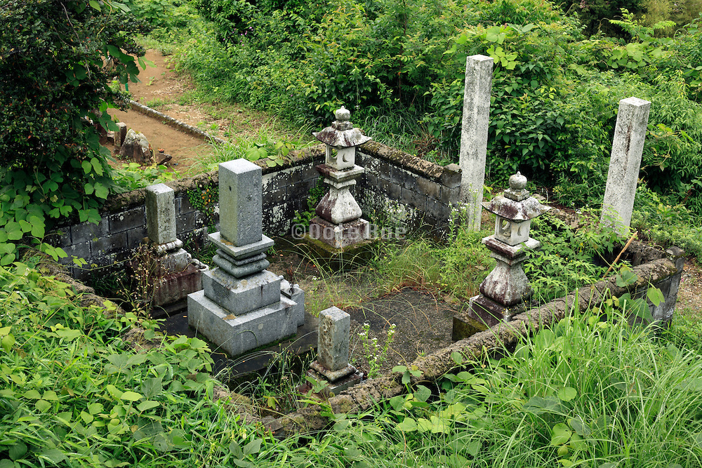 family grave Japan