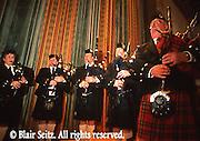 Bagpipe ensemble, Scots Irish customs, Wilkes Barre, PA