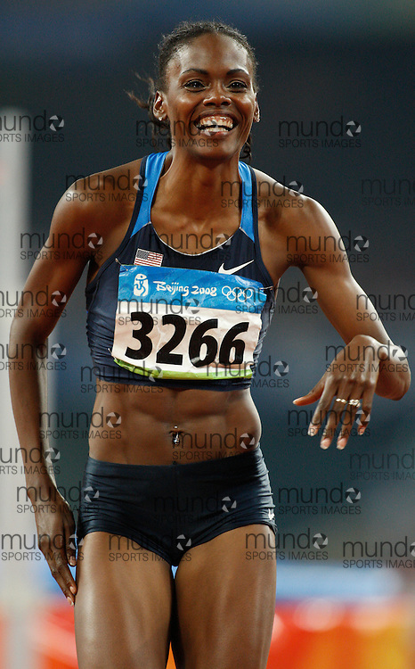 2008 Beijing Olympic Games- Day 9 - August 23rd, 2008- Evening *** Chaunte Howard -- high jump *** Day 9