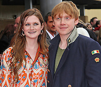 LEAVESDEN - MARCH 31: Bonnie Wright; Rupert Grint attend the Worldwide Grand Opening of the Warner Bros. Studio Tour London  The Making of Harry Potter at Leavesden Studios, Watford, UK. March 31, 2012. (Photo by Richard Goldschmidt)