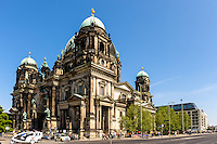 Berlin, Germany. The Berliner Dom was heavily damaged during WW2. Restoration completed in 1993.