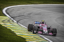 November 9, 2018 - Sao Paulo, Brazil - 31 OCON Esteban (fra), Racing Point Force India F1 VJM11, action during the 2018 Formula One World Championship, Brazil Grand Prix from November 08 to 11 in Sao Paulo, Brazil -  FIA Formula One World Championship 2018, Grand Prix of Brazil World Championship;2018;Grand Prix;Brazil  (Credit Image: © Hoch Zwei via ZUMA Wire)