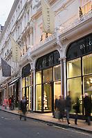 bulgari shop at christmas in london