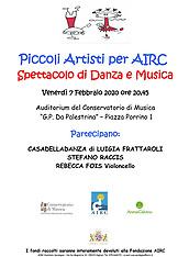 Spettacolo A.I.R.C by Casa della Danza di Luigia Frattaroli
