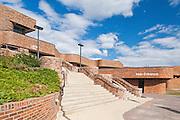 Grande Prairie Regional College  by Architect Douglas Cardinal<br /> Grande Prairie<br /> Alberta<br /> Canada