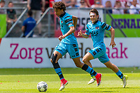 UTRECHT - 28-05-2017, FC Utrecht - AZ, Stadion Galgenwaard, AZ speler Calvin Stengs, AZ speler Joris van Overeem