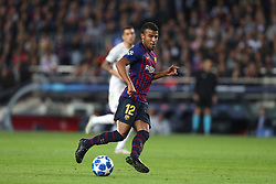 October 24, 2018 - Barcelona, Spain - Barcelona, Spain, October 24, 2018: Rafinha Alcantara of FC Barcelona in action during the UEFA Champions League, Group B football match between FC Barcelona and FC Internazionale on October 24, 2018 at Camp Nou stadium in Barcelona, Spain (Credit Image: © Manuel Blondeau via ZUMA Wire)
