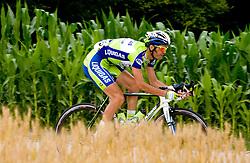 Gorazd Stangelj at Slovenian National Championships in Road cycling, 178 km, on June 28 2009, in Mirna Pec, Slovenia. (Photo by Vid Ponikvar / Sportida)