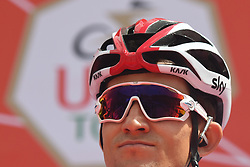 March 2, 2019 - Dubai, United Arab Emirates - Michal Kwiatkowski of Poland and Team SKY, seen at the start line of the seventh and final stage - Dubai Stage of the UAE Tour 2019, a 145km with a start from Dubai Safari Park and finish in City Walk area. .On Saturday, March 2, 2019, in Dubai Safari Park, Dubai Emirate, United Arab Emirates. (Credit Image: © Artur Widak/NurPhoto via ZUMA Press)