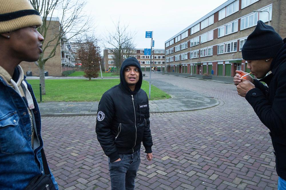Foto: Gerrit de Heus. Capelle a/d Ijssel. Rapper Ronnie Flex.