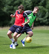 Dundee&rsquo;s Rory Loy and Scott Allan - Dundee FC pre-season training at Michelin Grounds, Dundee, Photo: David Young<br /> <br />  - &copy; David Young - www.davidyoungphoto.co.uk - email: davidyoungphoto@gmail.com