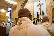 Clergy from the Maronite Catholic Church celebrate the 125th anniversary of St Maron's Maronite Church in South Philadelphia.
