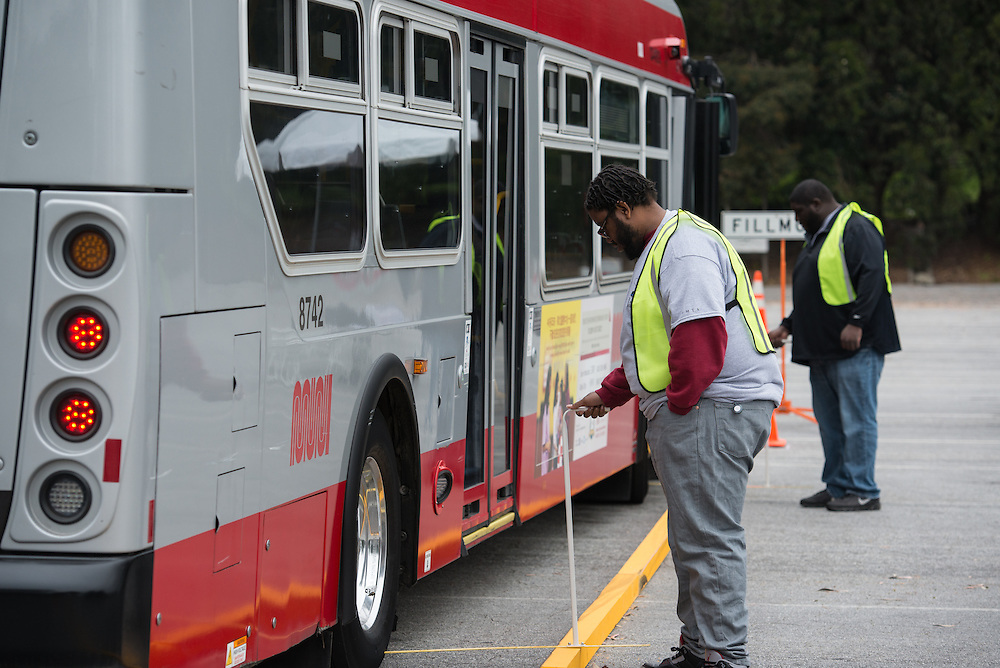 Judges at the 31st SFMTA Roadeo | April 2, 2016
