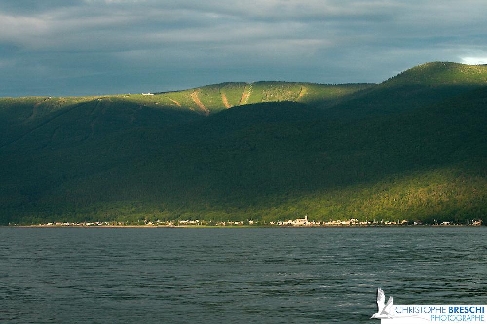 Ballade sur le Saint-laurent au Québec : entre la gaspésie et la ville de Québec