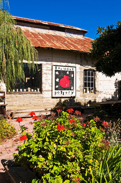 The Harmony Pottery Studio, Harmony, California