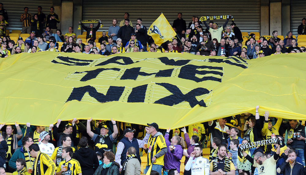 Save the Nix banner at the match between the Phoenix and Adelaide United in the A-League football match at Westpac Stadium, Wellington, New Zealand, Friday, November 13, 2015. Credit:SNPA / Ross Setford