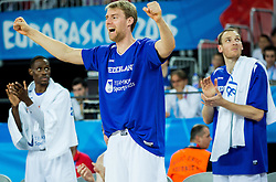 Henk Norel of Netherlands reacts during basketball match between Netherlands and Croatia at Day 5 in Group C of FIBA Europe Eurobasket 2015, on September 9, 2015, in Arena Zagreb, Croatia. Photo by Vid Ponikvar / Sportida