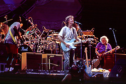 Steve Winwood and Traffic with Jerry Garcia performing Dear Mr. Fantasy before the Grateful Dead Concert that night on August 3, 1994