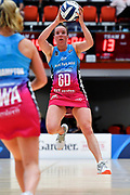 Steel's Abby Erwood in action.<br /> Stars v Steel, ANZ Premiership, Pulman Arena, Auckland, New Zealand. Sunday 14 April 2019. © Copyright Image: Marc Shannon / www.photosport.nz.