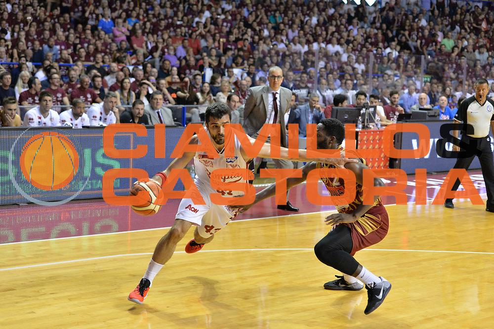Venezia 23 Maggio 2016 - Semifinale scudetto Playoff Gara 3 - Campionato Basket Lega A Umana Reyer Venezia vs EA7 Milano - Foto Ciamillo/Michele Gregolin<br /> Nella Foto: Krunoslav Simon