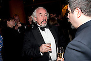 SIMON CALLOW, 56th London Evening Standard Theatre Awards. Savoy Hotel. London. 28 November 2010.  -DO NOT ARCHIVE-© Copyright Photograph by Dafydd Jones. 248 Clapham Rd. London SW9 0PZ. Tel 0207 820 0771. www.dafjones.com.
