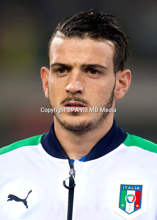 Uefa - World Cup Fifa Russia 2018 Qualifier / <br /> Italy National Team - Preview Set - <br /> Alessandro Florenzi