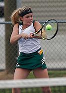Girls Tennis Eastern Comets vs Western/Lapel