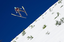 March 23, 2019 - Planica, Slovenia - Michael Hayboeck of Austria in action during the team competition at Planica FIS Ski Jumping World Cup finals  on March 23, 2019 in Planica, Slovenia. (Credit Image: © Rok Rakun/Pacific Press via ZUMA Wire)