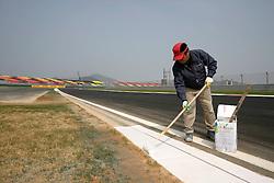 Motorsports / Formula 1: World Championship 2010, GP of Korea, Korean International Circuit, construction, Bauarbeiten