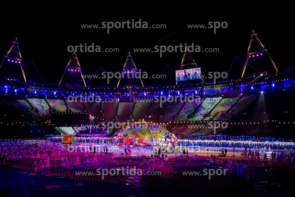 Opening ceremony during Day 1 of Summer Paralympic Games London 2012 on August 29, 2012, in Olympic stadium, London, Great Britain. (Photo by Vid Ponikvar / Sportida.com)