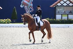 Duckworth Sam, (GBR), Ludwig der Sonnenkonig 2<br /> Intermediare II - Louisdor-Preis<br /> Horses & Dreams meets Denmark - Hagen 2016<br /> © Hippo Foto - Stefan Lafrentz