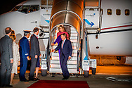 9-10-2017 LISBON - Arrival at airport Figo Maduro of Queen Maxima and Queen Willem Alexander for a 3 day state visit to Portugal Copyright Robin Utrecht<br /> State visit, Portugal, Queen, Ceilings, King, Willem Alexander, Willem Alexander,<br /> <br /> 9-10-2017 LISSABON - Aankomst Vliegveld Figo Maduro van koningin maxima en koningin Willem Alexander voor een 3 daags staatsbezoek aan Portugal Copyright Robin Utrecht <br /> Staatsbezoek , Portugal , koningin ,maxima , koning ,Willem Alexander , Willem-alexander ,