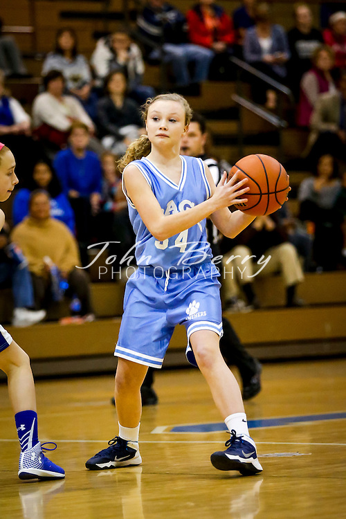 December 02, 2014.  <br /> Wetsel Middle School Girl's Basketball vs Page.