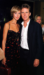 MR MOGENS THOLSTRUP and LADY VICTORIA HERVEY at a party in London on 27th September 1999.MWU 4