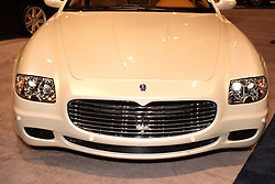 08 February 2007: 2007 Quarttroporte Automatic by Maserati. The Chicago Auto Show is a charity event of the Chicago Automobile Trade Association (CATA) and is held annually at McCormick Place in Chicago Illinois.