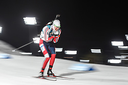 February 11, 2018 - Pyeongchang, Gangwon, South Korea - Emil Hegle Svendsen of Norway at Mens 10 kilometre sprint Biathlon at olympics at Alpensia biathlon stadium, Pyeongchang, South Korea on February 11, 2018. (Credit Image: © Ulrik Pedersen/NurPhoto via ZUMA Press)