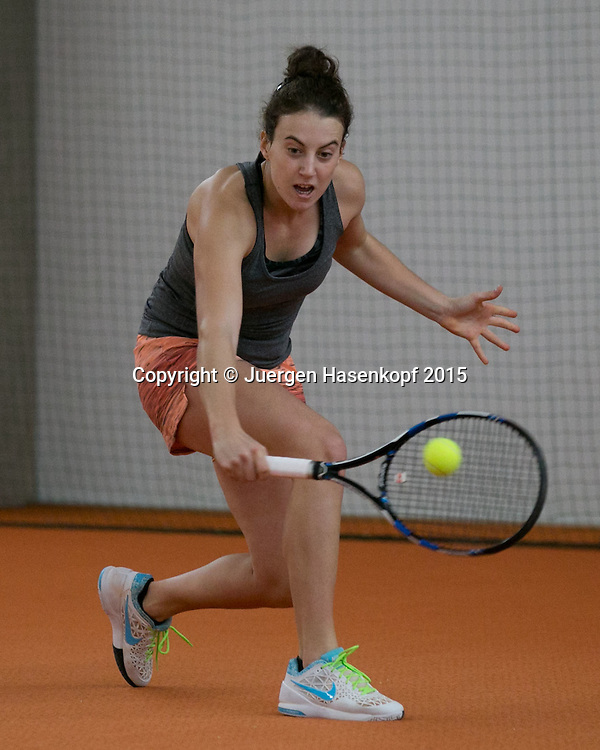 Adrijana Lekaj (CRO)<br /> <br /> Tennis - Ismaning Open 2015 - ITF 10.000 -  TC Ismaning - Ismaning - Bavaria - Germany - 30 October 2015. <br /> &copy; Juergen Hasenkopf