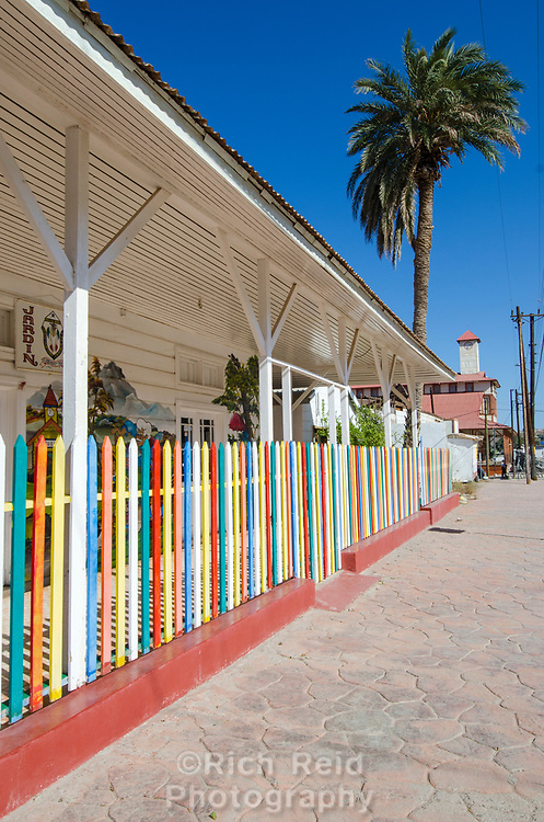 Santa Rosalia in Baja California Sur, Mexico.
