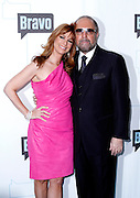 Jill Zarin and Bobby Zarin attend the 2010 Bravo Media Upfront Party at Skylight Studios in New York City on March 10, 2010.