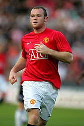 WAYNE ROONEY.MANCHESTER UNITED FC.DUNFERMLINE V MANCHESTER UTD.EAST END PARK, DUNFERMLINE, SCOTLAND.08 August 2007.DIQ64259..  .WARNING! This Photograph May Only Be Used For Newspaper And/Or Magazine Editorial Purposes..May Not Be Used For, Internet/Online Usage Nor For Publications Involving 1 player, 1 Club Or 1 Competition,.Without Written Authorisation From Football DataCo Ltd..For Any Queries, Please Contact Football DataCo Ltd on +44 (0) 207 864 9121