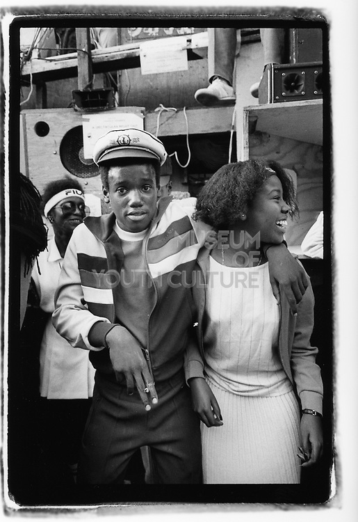 Hip Hop kids, Nottinghill, London 1981
