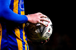 The FA Cup match ball for the 2018/19 season - Mandatory by-line: Robbie Stephenson/JMP - 05/02/2019 - FOOTBALL - Molineux - Wolverhampton, England - Wolverhampton Wanderers v Shrewsbury Town - Emirates FA Cup fourth round replay