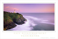 Cape Disappointment Washington Poster